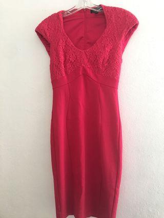 Pink Ted Baker Dress