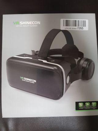 Virtual Reality Goggles w/ Headset