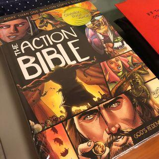 BNIB The Action Bible (Marvel Comic Illustrations)