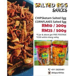 SALTED EGG cornflakes & crab