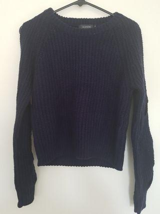 GLASSONS Navy Blue Knit - XS