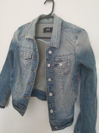 Dotti Washed Denim Jacket - Size 4