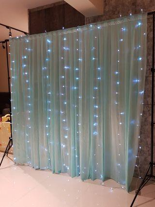 [RENTAL] Backdrop Color Veil Curtain