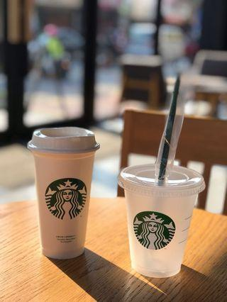 Starbucks 星巴克 環保雙杯組