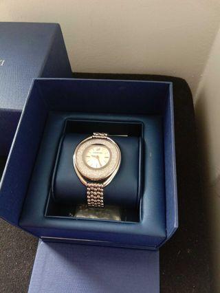 Authentic Crystalline Oval Swarovski Watch