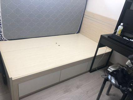 4' Double Bed (四呎雙人床架)