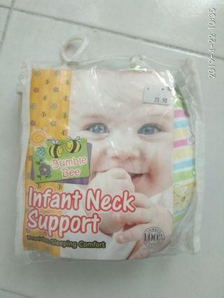 Infant baby neck support