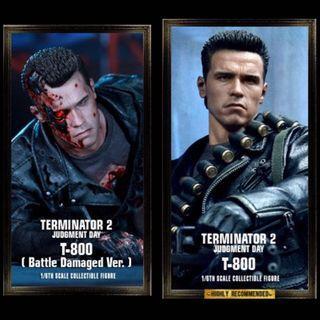 Hot Toys Terminator T-800 DX series