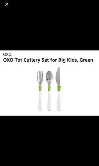 Oxo fork spoon and knife set