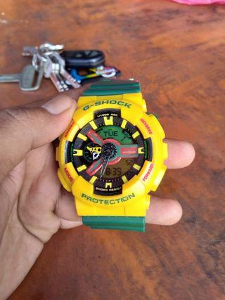 G-SHOCK RASTA ORI!!!!for sell..first come first get it....