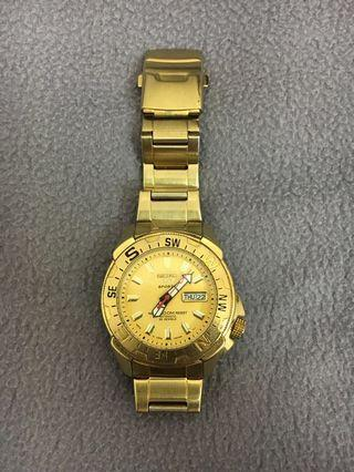 SEIKO 5 water 100m resist AUTOMATIC 23 JEWELS made in Japan