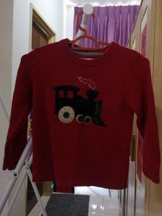 Authentic OshKosh Red Sweater #Rayathon50