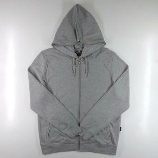 New Balance Grey Zipper Hoodie