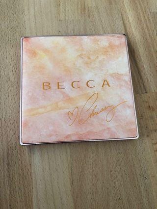 Becca x Chrissy Teigan Face Palette