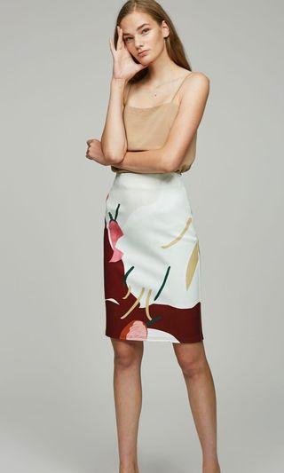 OSN Soup Fitted Skirt