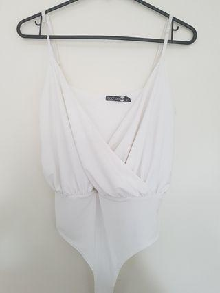 BOOHOO Wrap Bodysuit - Size 6