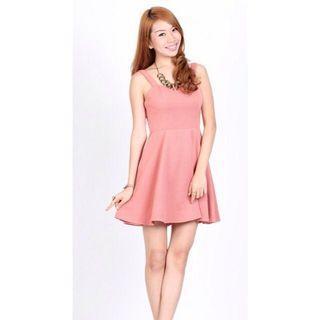 Ohvola Gwyneth Dress Pink M
