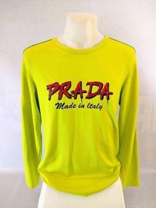 Prada Long Sleeve Sweatshirt (Big Logo)