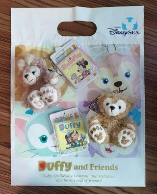 Disney Bear Duffy and ShellieMay Plush Couple Bear