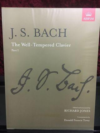 J.S. Bach The well-tempered clavies part 1 BWV 846-869