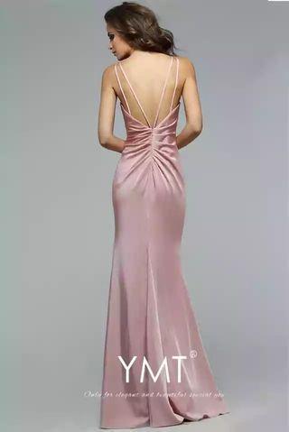 Peach Gown