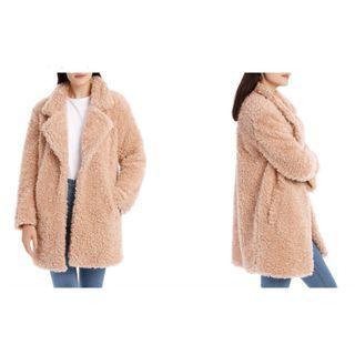 Oversize teddy jacket- MISS SHOP