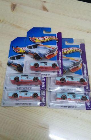 Hotwheels Chevy Chevelle Gulf