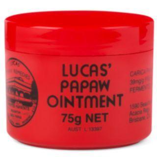 (現貨再返) ~澳洲Lucas Papaw 木瓜膏 (濕疹/潤膚/護唇/蚊叮蟲咬萬用膏) 75 g
