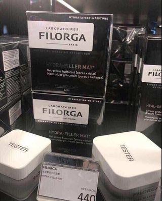 法國FILORGA菲洛嘉HYDRA-FILLER MAT啞光t版玻尿酸高保溼補水面霜