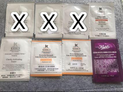 Kiehl's Sample**包郵