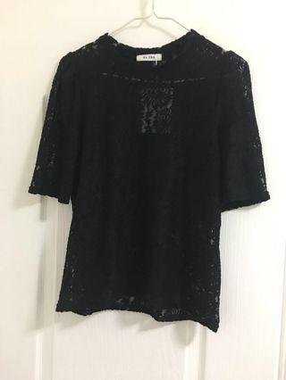 Black Lace Top *95% new*