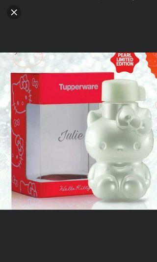 5f628fb2b Tupperware Pearl Prosperity Hello Kitty Bottle 425ml