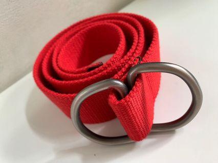 紅色 腰帶