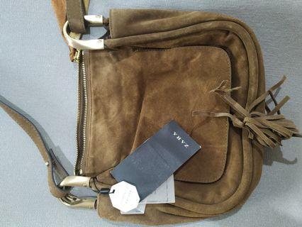 Leather Brownie Zara