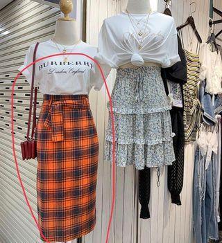 Midi skirt size S