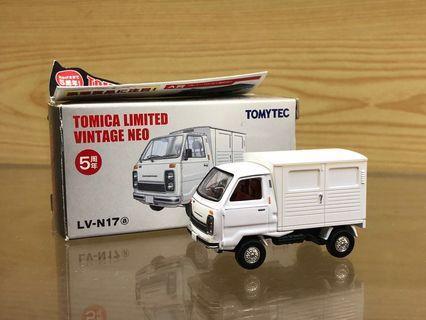 Tomica Limited Vintage Neo Tomytec LV-N17a 1/64 Honda TN-V Tuck