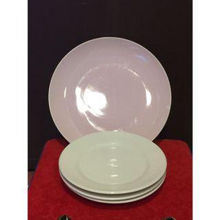 🚚 🎁搬家出清🎁 大同強化瓷盤3個+粉色系瓷盤1個/瑕疵 #半價居家拍賣會