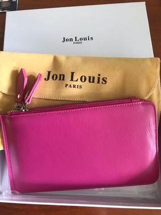 🚚 Jon Louis pink card holder wallet #endgameyourexcess
