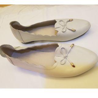🈹 white shoes 白鞋 24.5 cm