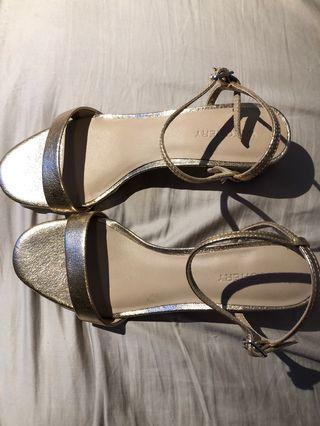 Witchery Rose Gold Strappy Heel 37