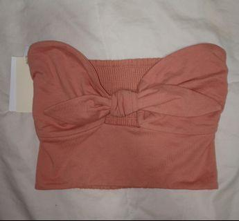 ARITZIA peach tube top