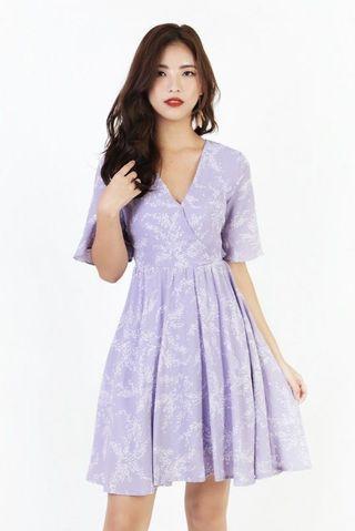 MGP Dainty Lady Lilac Flutter Sleeve Midi #ENDGAMEyourEXCESS