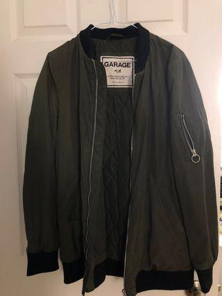 Garage Green Bomber (M)