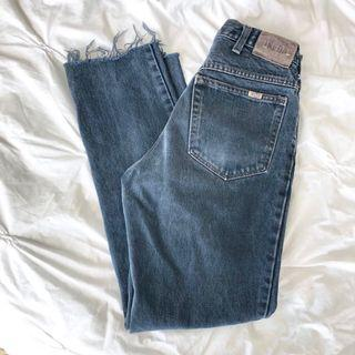 Ikeda Vintage Washed Black Denim