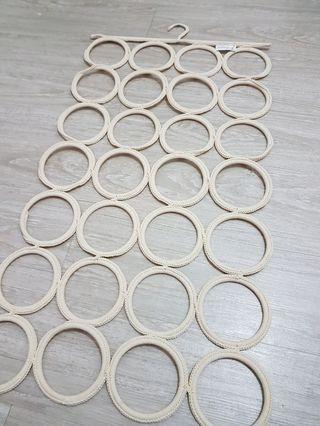 IKEA 圍巾 皮帶 收納 掛飾(兩個一組一起賣)