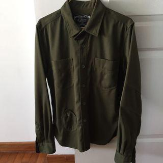 🚚 Chota Army Green Shirt