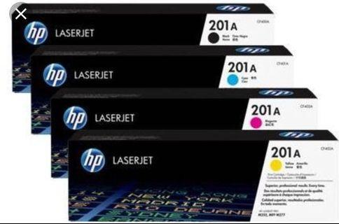 Hp 201a printer toner