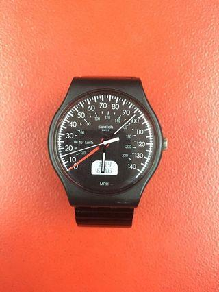 SWATCH ORIGINAL SUOB117 / BLACK BRAKE