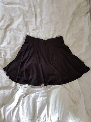 Black Skater Skirt (new)