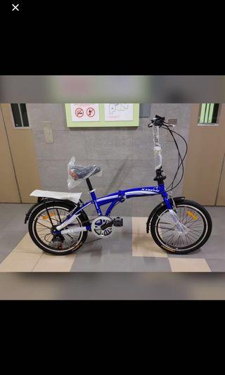 Brand new 20inch foldable bicycle!! Compact and easy to fold!!!